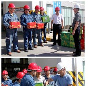 陕有色集团网:集团工会将清凉送到陕西竞技宝App公司电解槽旁