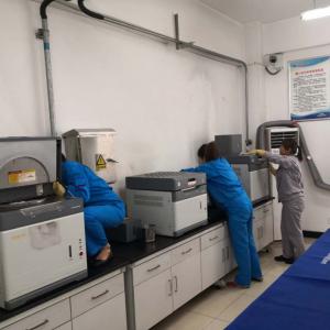 质检计量中心检验三室开展环境整治岗位练兵活动