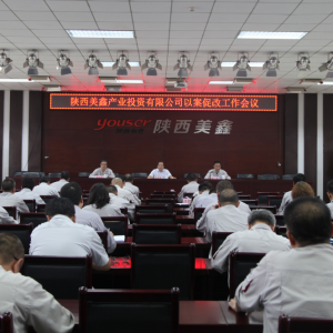 陕西竞技宝App公司召开以案促改工作会议