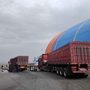 锦阳电厂煤场环保深度治理显成效