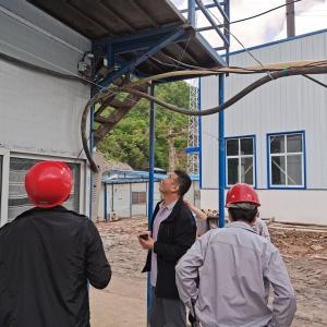 矿业公司组织安全生产集中整治检查