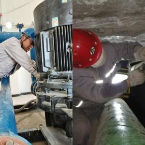 铝镁合金动力车间提前供热暖人心