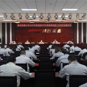 公司召开2020年度党组织书记抓党建工作述职述廉会