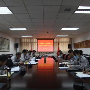 公司党委理论学习中心组召开2021年第一次集中学习会
