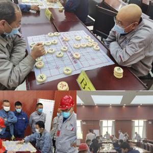 """铝镁合金分公司举办""""迎新年""""职工象棋比赛"""
