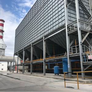 净化脱硫系统3#风机改造成功 再次刷新电解铝环保指标新高度