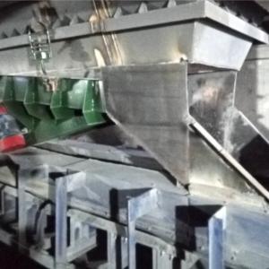 组装车间电解质破碎系统完成优化改造