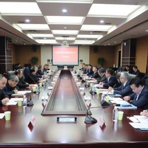 华润电力控股有限公司总裁唐勇一行到陕煤集团座谈交流